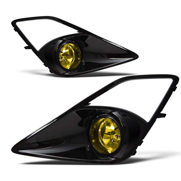 Winjet WJ30033912 12-14 Scion FR-S Fog Lights - (Yellow) - (Wiring Kit Included)