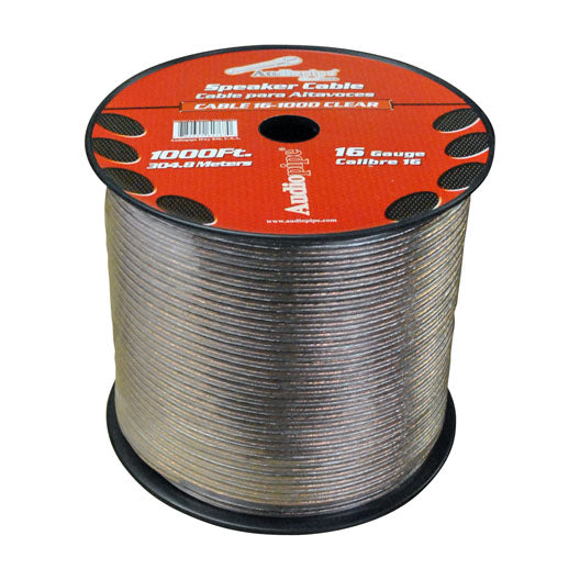 Audiopipe CABLE161000 1000 foot 16 Gauge Car Speaker Wire