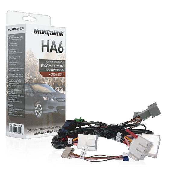Excalibur OLHRNRSHA6 Plug&Play HarnessCovers Select Acura & Honda PTS 2013+