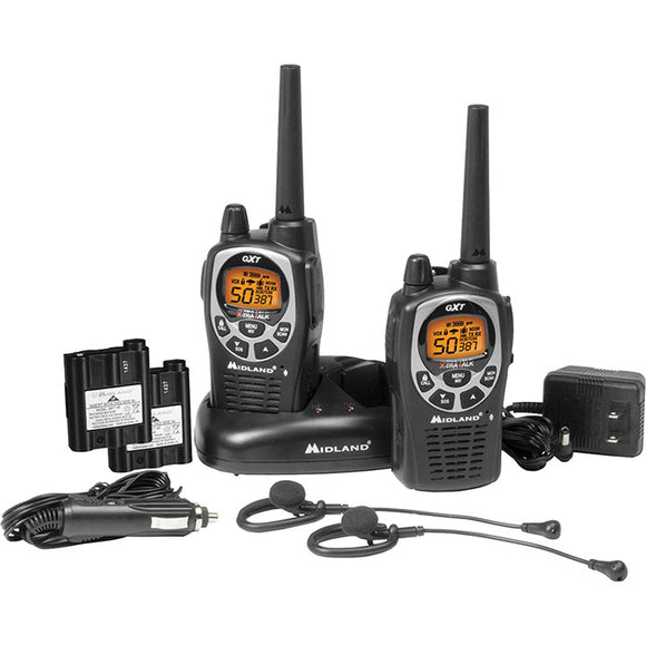 Midland GXT1000VP4 Waterproof Series 50 Channel and Headset