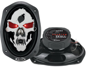 "Boss Audio SK693 6"" x 9"" 600 Watt 3 Way Speaker pair"