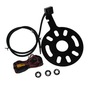 Crux CCH01S Jeep Wrangler Camera Spare Tire Mount