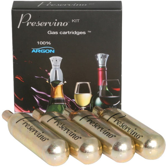 Preservino PWS-G Argon Cartridges, 4 pk