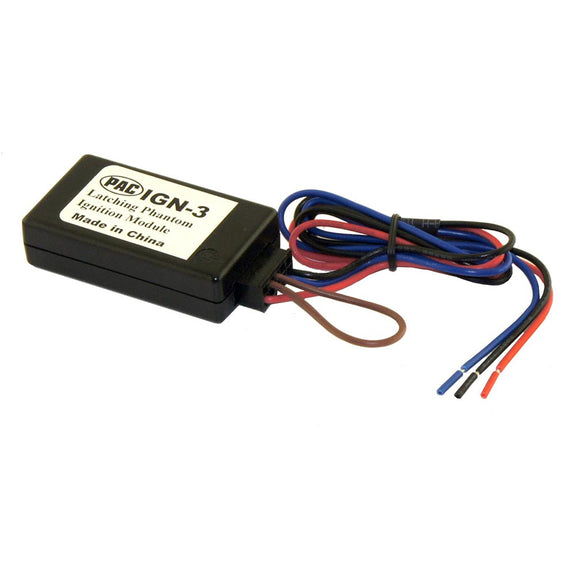 PAC IGN3 Latching Phantom Ignition Module for Start/Stop Vehicles