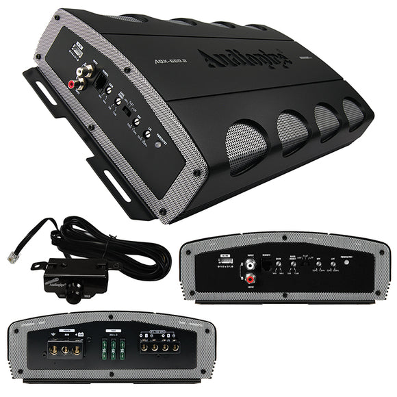 Audiopipe AQX6602 Amplifier 2 Channel 2000 Watts Max