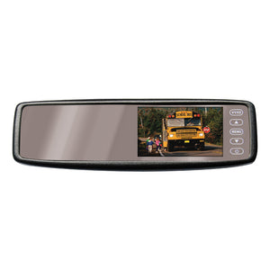"Pyle PLCM4300WI 4.3"" Rear View Clip On Mirror with Wireless Camera"
