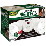 Ideaworks JB7115WHI Night Eyes Security Lights White