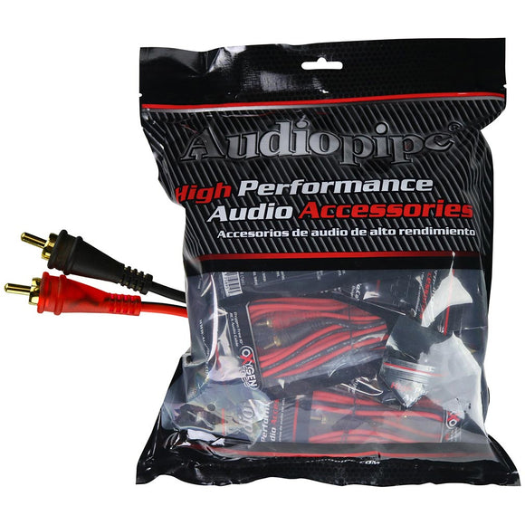 Audiopipe AMF15 15ft Oxygen Free RCA Cable - 10pcs per bag