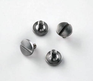 Hogue 92018 Beretta Screws 4 Slotted Stainless Finish