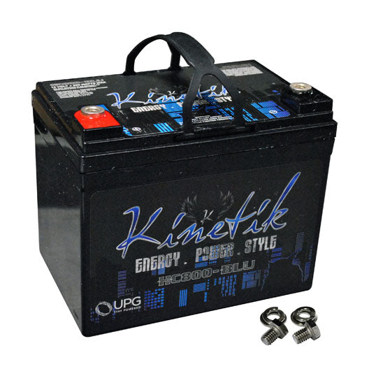 Kinetik HC800BLU 800 Watt 35 Amp Hour Car Audio Battery