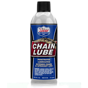 Lucas Oil 10393 Chain Lube Aerosol 11 Ounce