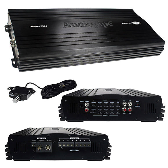 Audiopipe APNK2504 2000 Watt 4 Channel Amplifier
