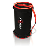 Axess SPBT1033RD Red Portable Bluetooth Indoor Outdoor 2.1 Speaker