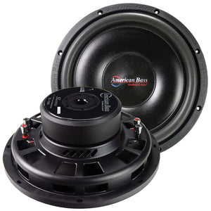 "American Bass SL1244 12"" Shallow Woofer 600 Watts Dual 4 Ohm Voice Coil"
