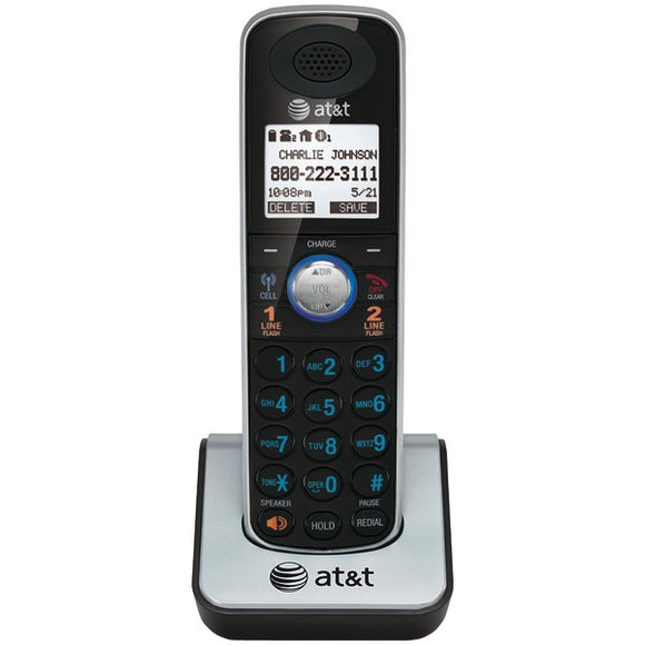 AT&T TL86009 DECT 6.0 2-Line Corded/Cordless Additional Phone Handset w/ Bluetooth