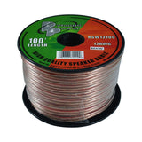Pyramid RSW12100 100' foot ft 12 Gauge Speaker Wire