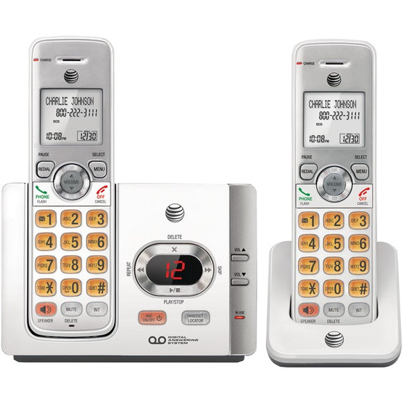 AT&T EL52215 Cordless Answering System with Caller ID 2 handsets