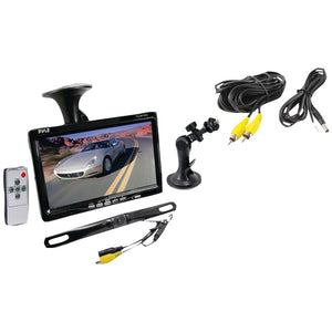 "Pyle PLCM7500 7"" Window Mount Monitor w/ Rearview Camera"