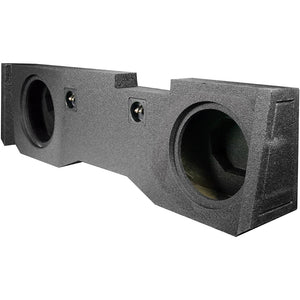 "Qpower QBGMC1020144DR Dual 10"" 2014-Current  GM/Chevy Crew Cab Woofer Box"