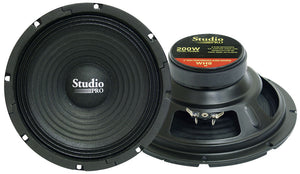 "Pyramid WH8 8"" 200 Watt 8 Ohm Subwoofer"