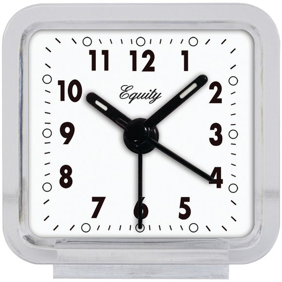La Crosse 21038 Clear Quartz Travel Alarm Clock