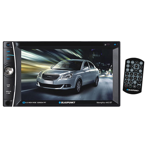 Blaupunkt MEMPHIS440BT Double din DVD/CD receiver w/ 6.2