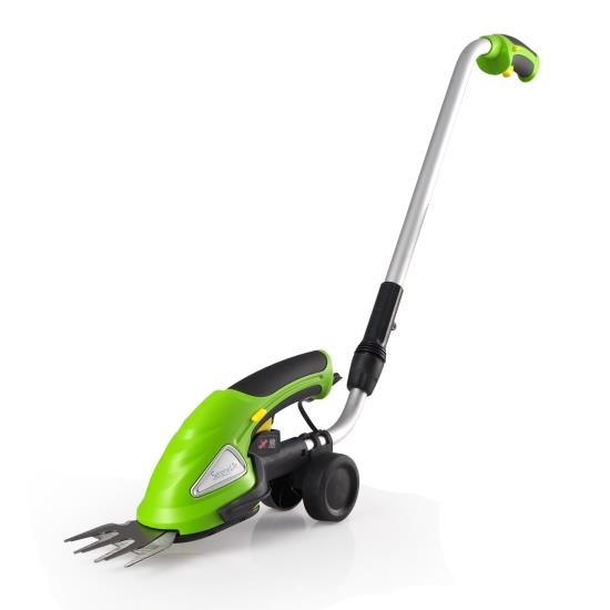 SereneLife PSLGTM30 3.6V Cordless Handheld Grass Cutter, Electric Hedge Trimmer