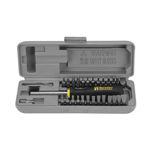 Wheeler SpaceSaver Screwdriver Set