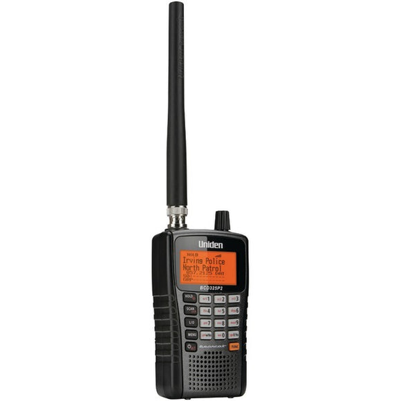 Uniden BCD325P2 Phase 1 & 2 Handheld Digital Police Scanner 25,000 Channels