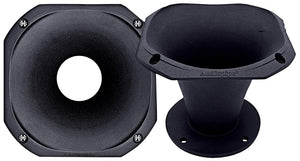 "Audiopipe APH6050BOH 6"" High Frequency Aluminum Horn Each"