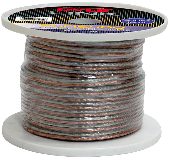 Pyle PSC16500 16 Gauge 500 ft. Spool of High Quality Speaker Wire