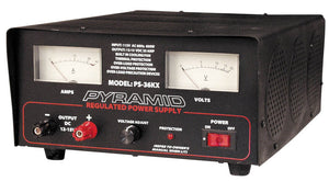 Pyramid PS36KX 35 AMP Fully Regulated Power Supply