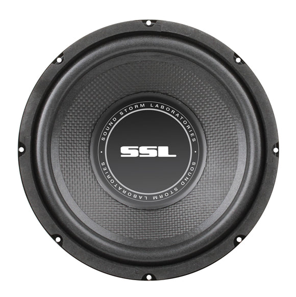 SOUND STORM SS8 SS8 inch Single Voice Coil (4 Ohm) 400-watt Subwoofer