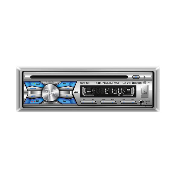 SoundStream SMR21B Single Din Marine AM/FM CD/MP3/USB radio + Bluetooth