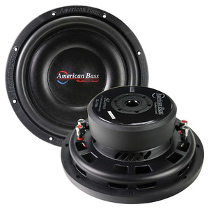 "American Bass SL1044 10"" Shallow Woofer 600 Watts Dual 4 Ohm Voice Coil"