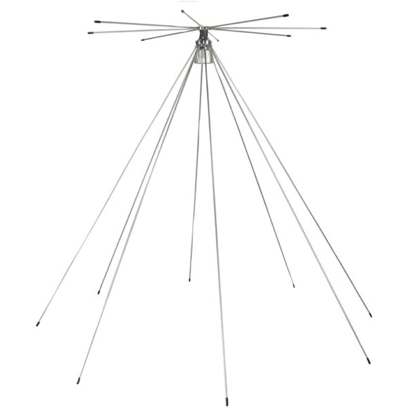 Tram 1410 Scanner 25MHz-1,300MHz VHF/UHF Super Discone Base Antenna
