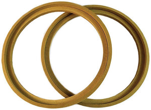 "Nippon RING12BZ 12"" MDF Wood woofer ring wioth bezel sold in pairs"