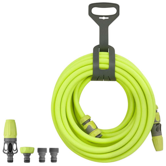 Flexzilla HFZG12050QN Garden Hose Kit W/ Quick Connect Attachments 1/2In X 50Ft