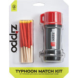 Zippo 40483 Typhoon Match Kit (1-Match kit 15-Typhoon matches 3-Strike pads)