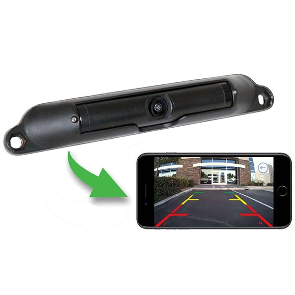 Boyo VTL420RX Wi-Fi Wireless License Plate Camera viewable on Smartphone