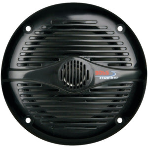 "BOSS AUDIO MR60B Marine 6.5"" 2-way 200-watt Full Range Speakers"