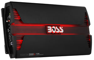 Boss Audio PT3000 3000 Watt 2 Channel Phantom Car Amplifier
