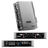 SOUND STORM EV4.400 EVOLUTION 400-Watt Full Range, Class A/B 2 to 8 Ohm Stable 4 Channel Amplifier