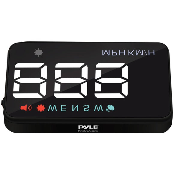 Pyle PHUD12 Vehicle Speed & GPS Compass Monitor System Heads-up Display