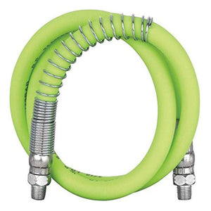 "Flexzilla L2930FZSP Grease Hose 3/16"" X 42"" 1/8"" MNPT Ends Spring Guard"