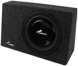 "Audiopipe APSB10SLM 10"" Shallow Mount Enclosure 400W Max"
