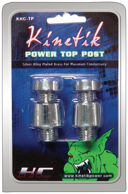 Kinetik KHCTP Battery Post Silver Alloy Positive And Negative