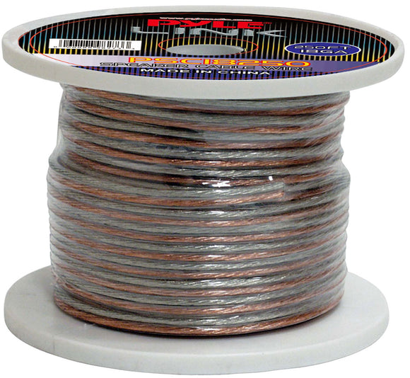 Pyle PSC18250 18 Gauge 250 ft. Spool of High Quality Speaker Wire