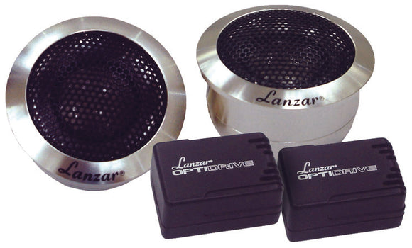Lanzar OPTITW Tweeter Titanium w/ aluminum Housing 200watts Pair