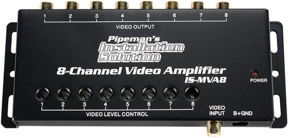 Pipeman's Installation Solution 8 channel Video amplifier ISMVA8